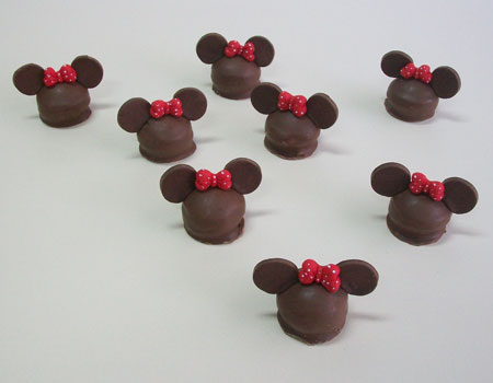 Mickey y Minnie Bombon